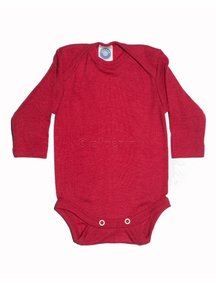 Cosilana Baby Body Wool / Silk - red