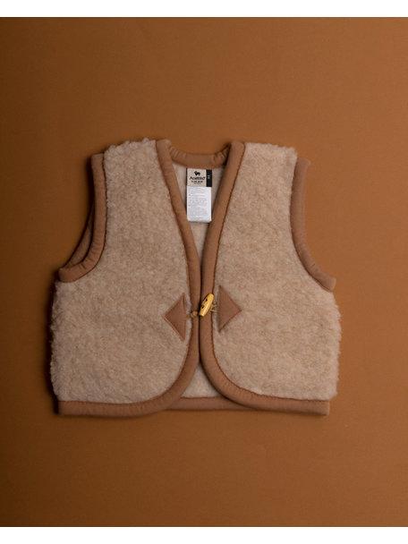 Alwero Alpen Vest Wool - beige