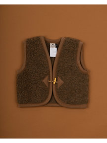 Alwero Alpen Vest Wool - brown