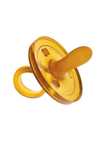 Goldi Natural Rubber Soother/Pacifier Oval Shape