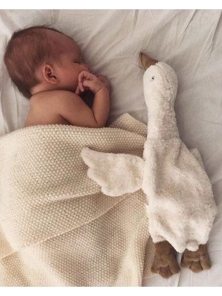 Senger Organic Cuddly Goose - white