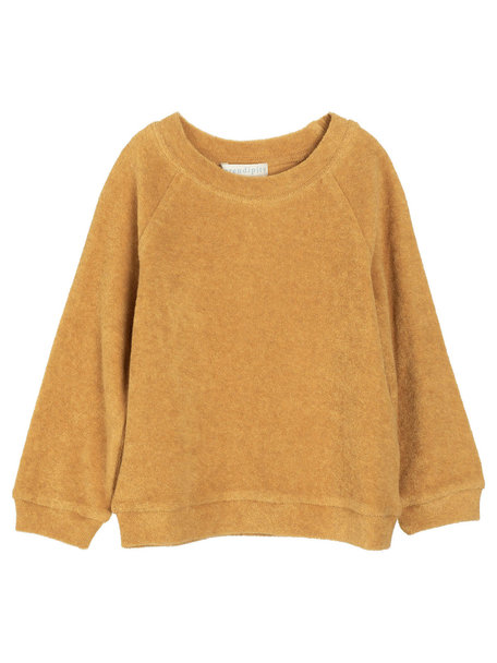 Serendipity Sweater terry cotton - honey
