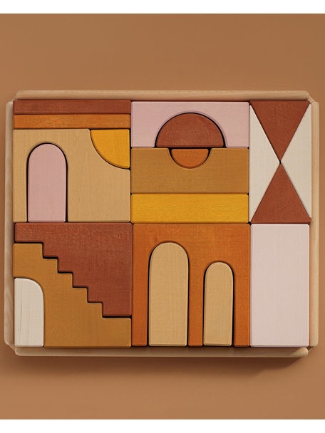 Raduga Grez Building blocks coloured