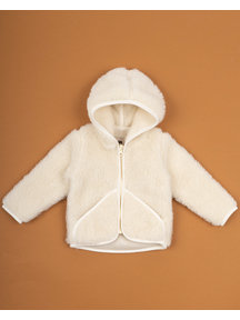 Alwero Jacket teddy plush - natural