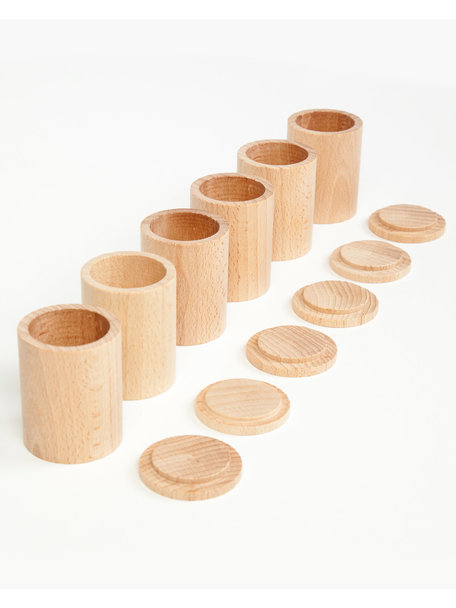Grapat Cups with cover -natural