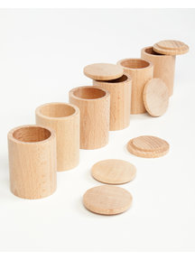 Grapat Cups with cover - natural