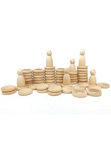 Grapat Nins® Rings & Coins - natural