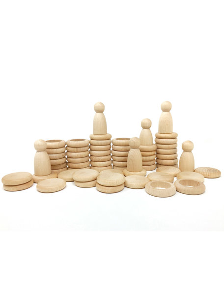 Grapat Nins® Rings & Coins - natural