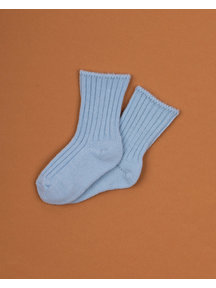 Joha Merino wool socks - Light blue