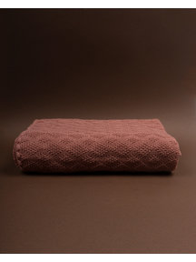 Disana Crib Blanket 140 x 100 cm Wool - Rose (Ziloen Exclusive)