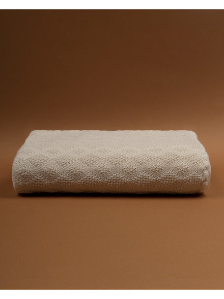 Disana Crib Blanket 140 x 100 cm Wool - Natural (Ziloen Exclusive)
