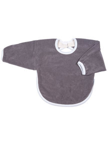 Popolini iobio Long Sleeve Bib - Grey