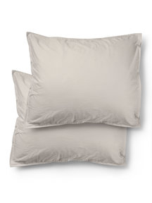 Midnatt Pillow Cover - Pebble (2 pcs)