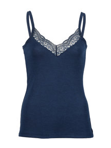 Engel Natur Chemise women wool/silk - Navy