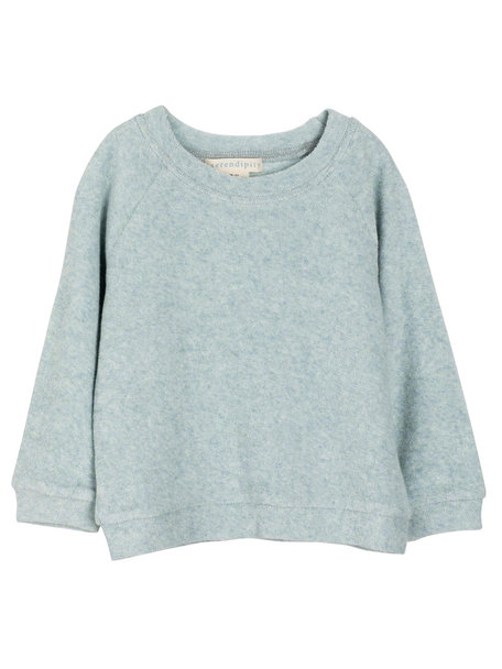 Serendipity Sweater terry cotton - cloud
