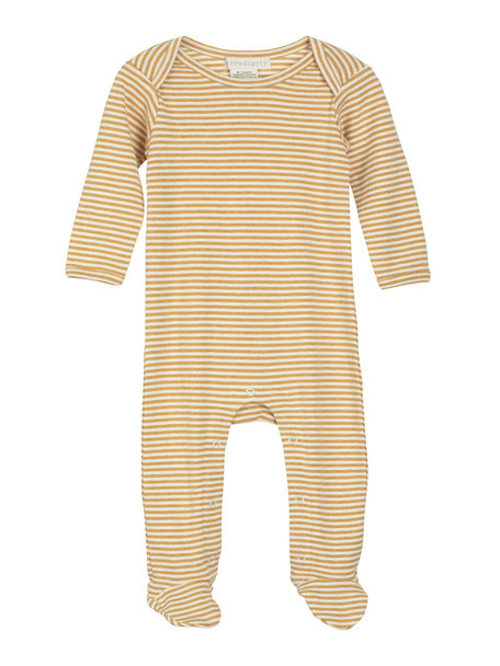 Serendipity Jumpsuit with stripe - honey