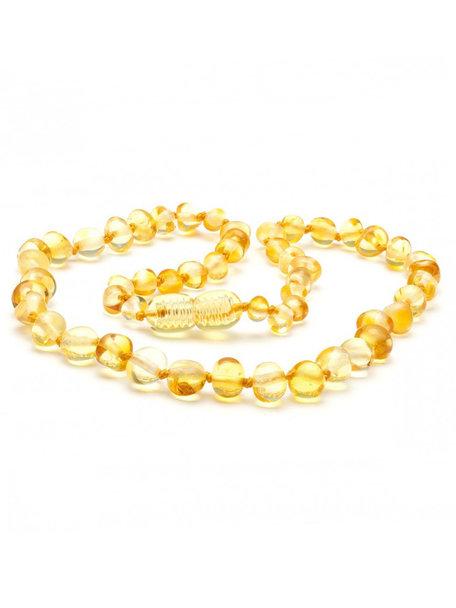 Amber Amber Kids Necklace 38 cm - Lemon