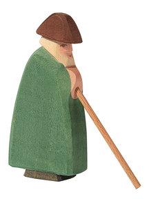 Ostheimer Shepherd with staff