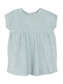 Serendipity Baby dress terry - cloud