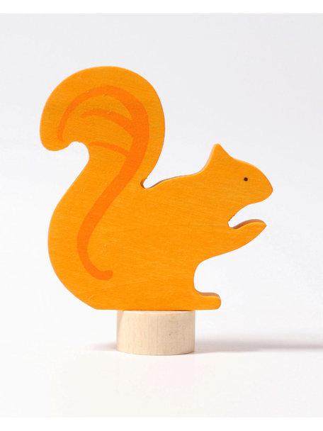 Grimm's Decorative Figure toadstool - squirrel