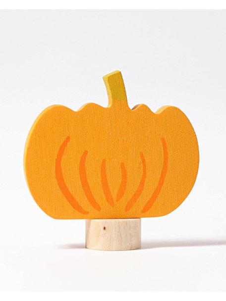 Grimm's Decorative Figure toadstool - pumpkin