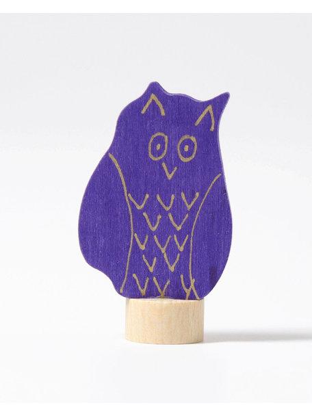 Grimm's Decorative Figure toadstool - owl