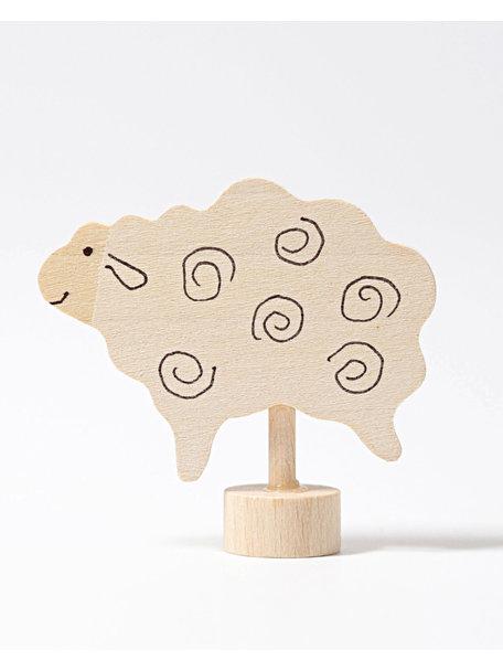 Grimm's Decorative Figure toadstool - standing sheep