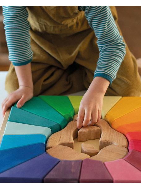 Grimm's Building set rainbow lion