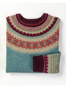 Eribé Fair-isle sweater - oldrose