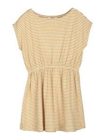 Serendipity Striped beach dress - honey