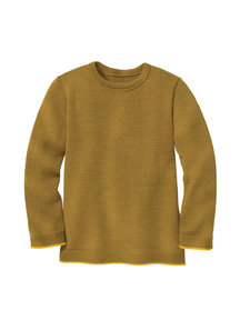 Disana Merino wool children's jumper - gold/curry