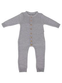 Popolini iobio Overall Merino Wool - Grey