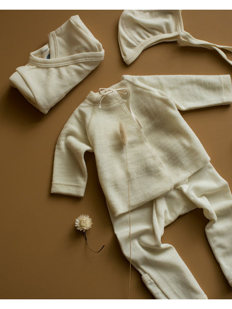 Cosilana Baby Shirt Terry Wool Frotté - Natural