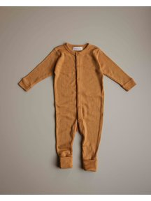 Unaduna Jumpsuit of wool -  inca gold