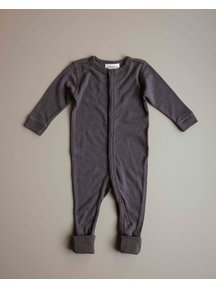 Unaduna Jumpsuit of wool - deep taupe