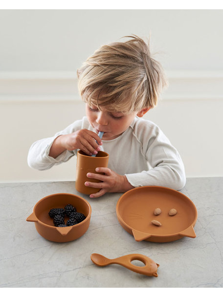 Liewood Silicone bowls rose - 4 pack