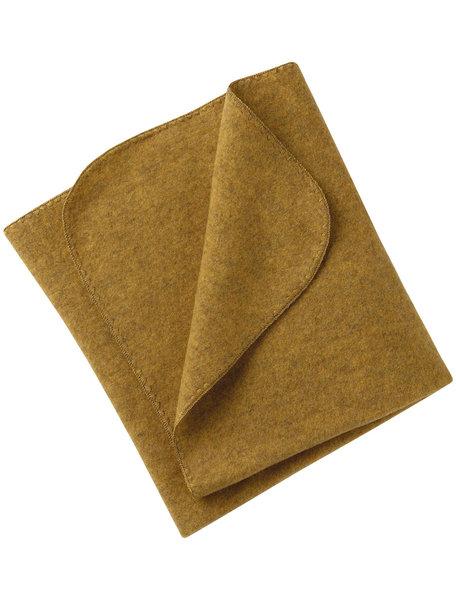 Engel Natur Baby Blanket Wool Fleece - Saffron