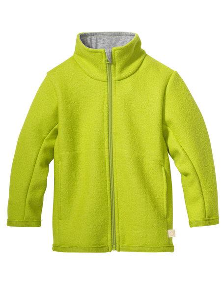 Disana Boiled wool summerjacket - apple green