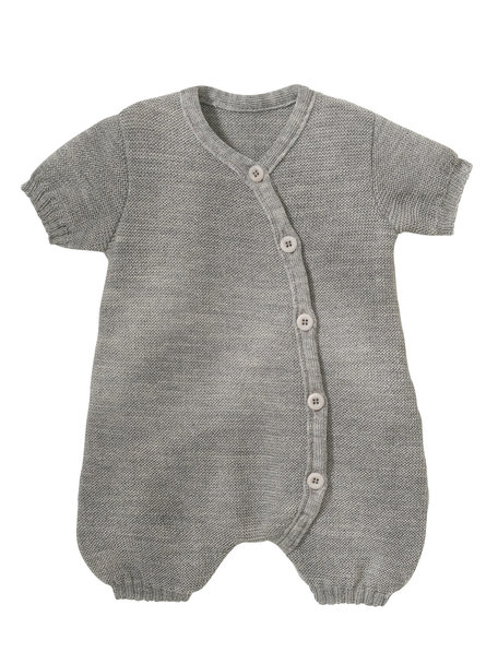 Disana Summer jumpsuit from wool - grey