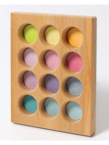 Grimm's Sorting board - pastel