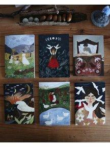 Boeken & Kaarten Tijana draws - set of 6 cards