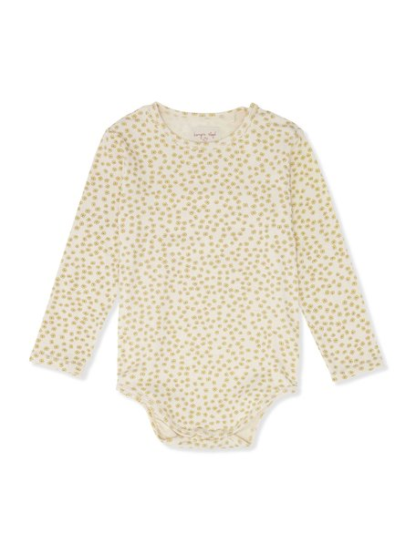 Konges Sløjd Baby body - buttercup yellow