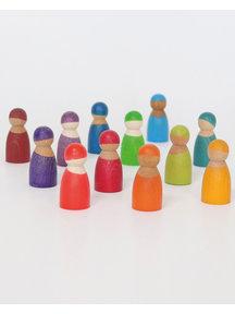 Grimm's Wooden Rainbow Friends