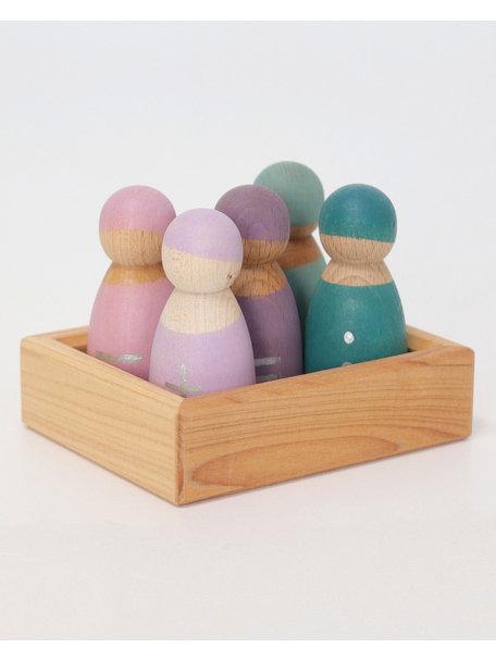 Grimm's Five Wooden Math Friends