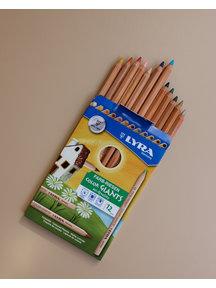 Lyra Color giants pencils - 12 pieces