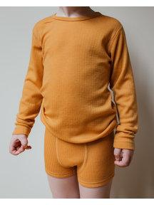Unaduna Shirt longleeves - inca gold