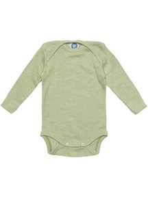 Cosilana Baby Body Wool/Silk/Cotton - Green