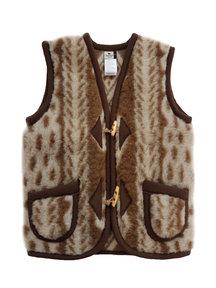 Alwero Women's woolen vest - aran