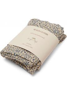Konges Sløjd Muslin cloths 3-pack - blue blossom mist