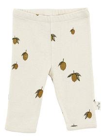 Konges Sløjd Newborn leggings - lemon